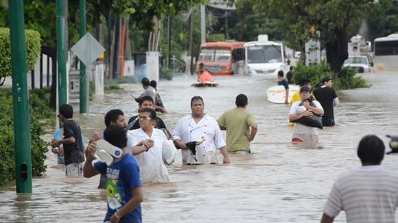 Inondations à Acapulco