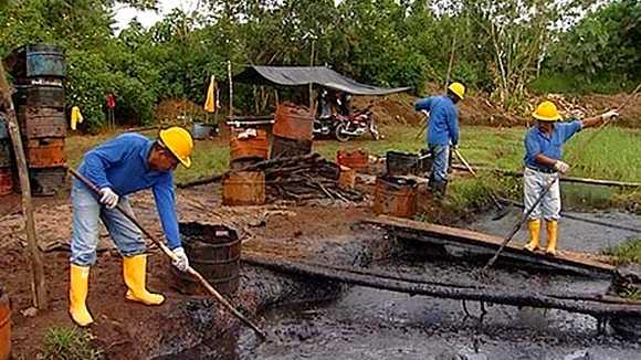 Pollution pétrolière en Equateur