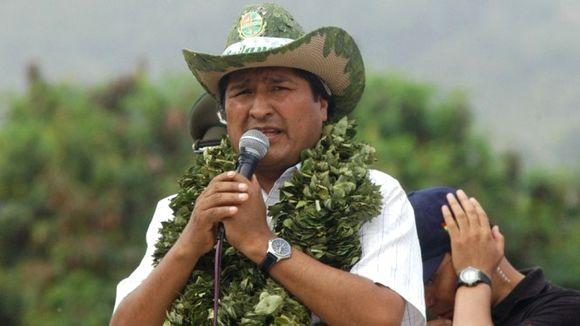 Evo Morales, Président de la Bolivie