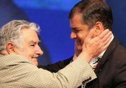 Rafael Correa et Pepe Mujica
