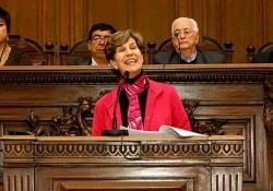 Isabel Allende, présidente du PS Chilien