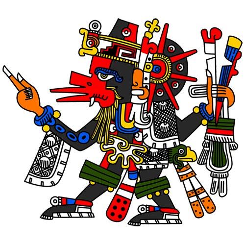 Dioses Aztecas Civilizaciones Precolombinas