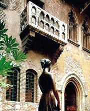 Le balcon de Juliette à Verone