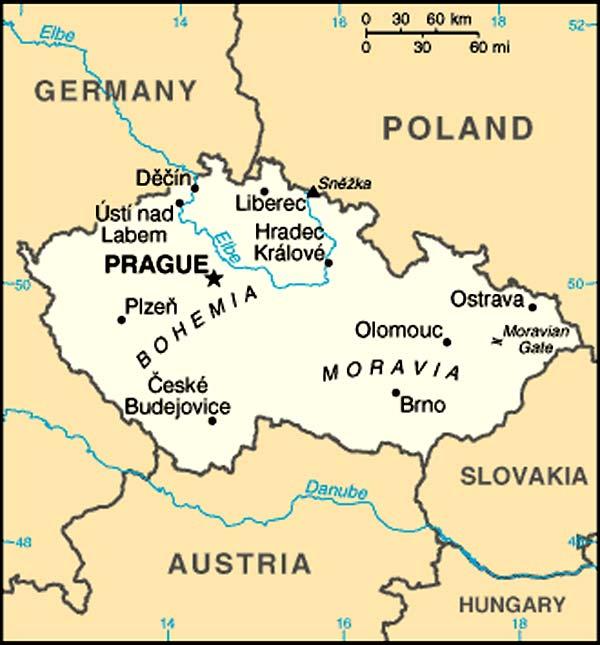 Good Morning In Austrian German : Plans de villes en république tchèque