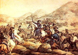 Belgrano en la Batalla de Tucuman