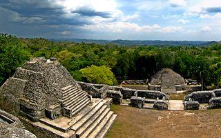 El Caracol, ciudad Maya de Belice