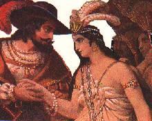 Cortés y Malinche