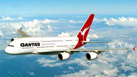 Airbus A380 de Qantas