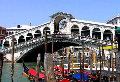 Le Pont Rialto à Venise