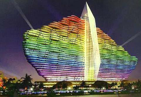 Un hôtel 7 étoiles à Sanya en Chine