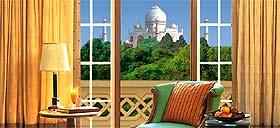 Le Taj Mahal depuis votre chambre
