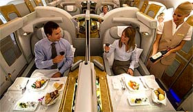 Suite de l'Airbus A380 d'Emirates