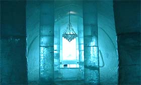 Entrée IceHotel