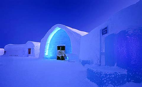 magazine du tourisme h tels icehotel le palais de glace. Black Bedroom Furniture Sets. Home Design Ideas