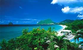 Hotel Diamant Beach et la plage