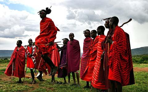 Guerriers Masaï