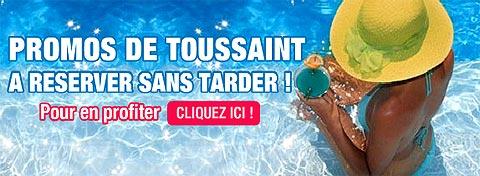 Promos de la Toussaint avec Nouvelles Frontières