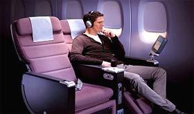 Classe Premium Economy Airbus A380 de Qantas