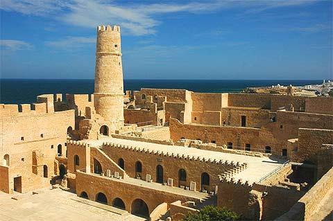 Ribat de Monastir en Tunisie