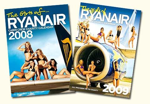 Les Calendrier 2008 et 2009 de Ryanair