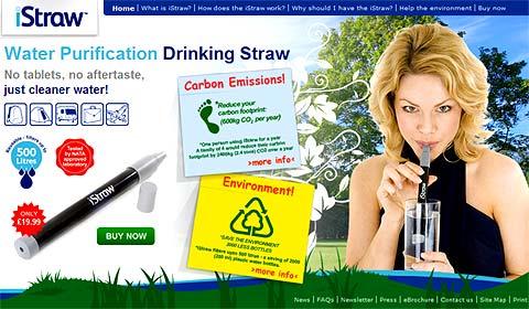 Site Internet du fabricant iStraw