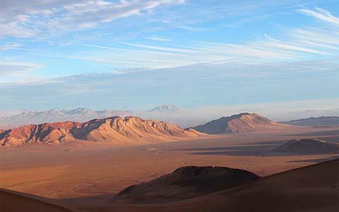 Le Dakar 2009 traverse les magnifiques paysages de l'Argentine