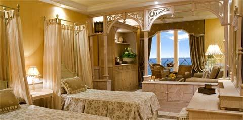 Chambre du Grand Hotel El Mirador