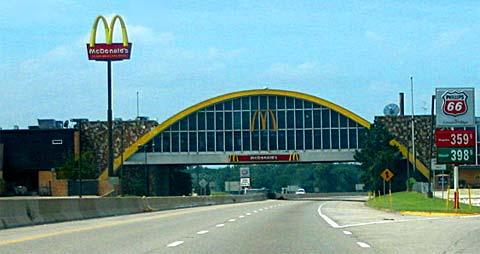 La célèbre Route 66 aux USA