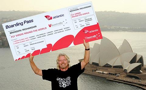 Le Tour du Monde de Richard Branson