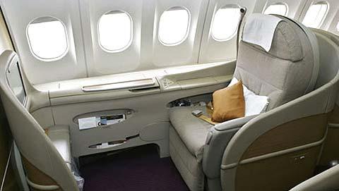 La Business Class sur Emirates