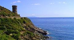 Tour Génoise au Cap Corse