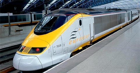 TGV Eurostar Paris-Londres