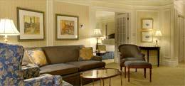 Suite de l'hotel Chateau Laurier