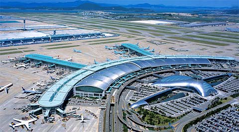 Aéroport International de Incheon Séoul