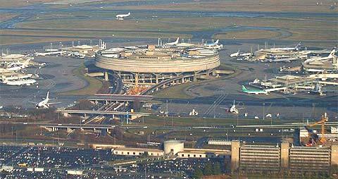 Terminal 1 de l'aéroport de Paris CDG