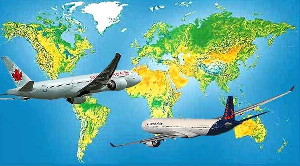 Le trafic aérien de l'aviation civile