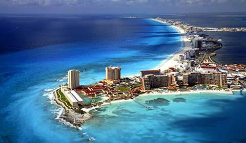 Zone hôtelière de Cancun