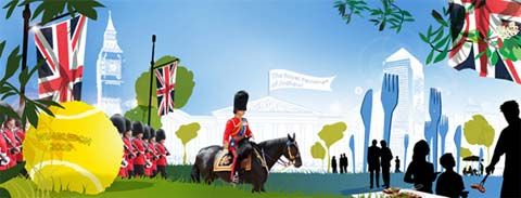 Activités à Londres au mois de juin
