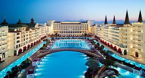 photo hotel luxueux antalya