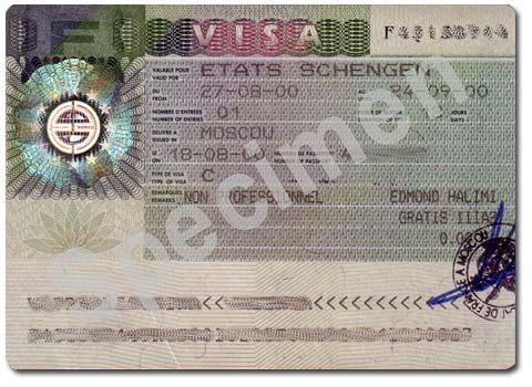 Visa Schengen pour la France