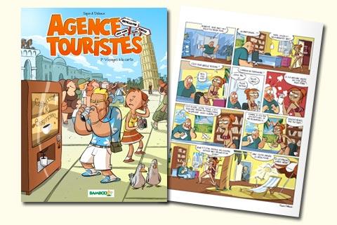 Agence Touristes, Tome 1