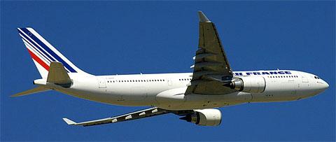 Airbus A330 d'Air France immatriculé F-GZCP