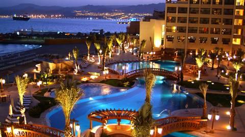 Un des magnifiques hôtels à Aqaba