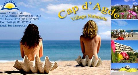Naturisme au Cap d'Agde