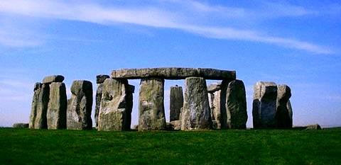 Les ruines mégalithiques de Stonehenge