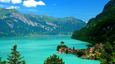 Iseltwald en Suisse