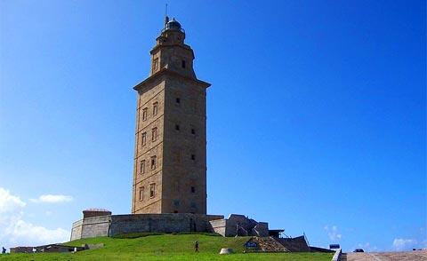 La Tour d'Hercule à La Corogne