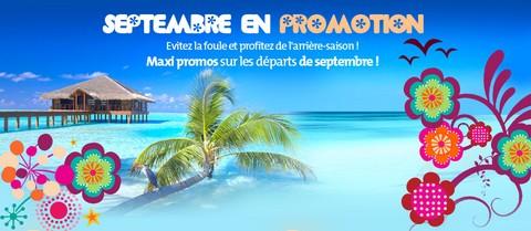 Magazine Du Tourisme Bons Plans Promos De Septembre Chez Nouvelles Frontieres