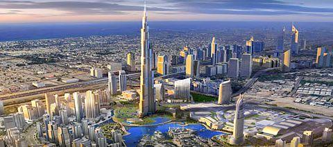 Magazine du tourisme actualit la tour la plus haute du monde duba - Hauteur plus grande tour dubai ...