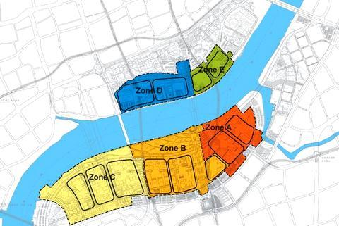 Plan de l'Exposition Universelle Shanghai 2010